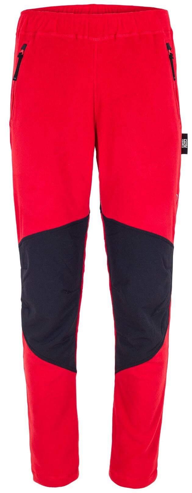 Spodnie polarowe Anas Pants Milo czerwone   Sklep