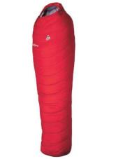 Lekki śpiwór puchowy ED 500 Camp czerwony