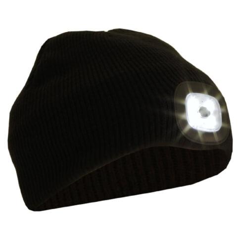 Czapka z latarką czołową LED 50 lm Glovii