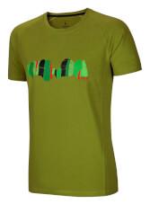 Koszulka outoroowa Asai Tee Pond Green Ocun