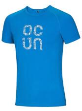 Koszulka wspinaczkowa Bamboo T Gear Ocun Vivid Blue