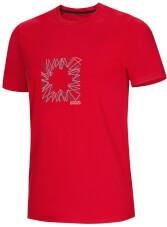 T-shirt męski wspinaczkowy Dash Apple Red Ocun
