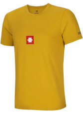 Sportowy T-shirt męski Logo Tee Oil Yellow Ocun