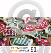 e-Bon podarunkowy na Gwiazdkę o wartości 50 zł do samodzielnego wydruku