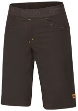 Spodnie sportowe Mania Shorts Ocun Brown/Yellow