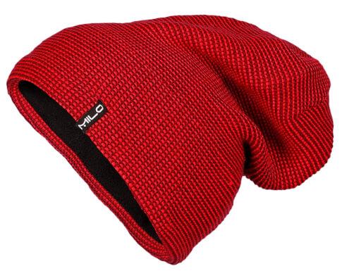 Ciepła czapka zimowa Milo Taay tomato red