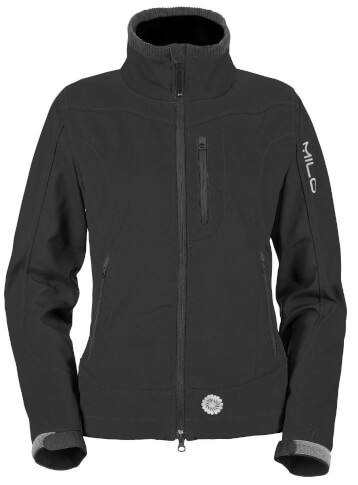 Kurtka softshellowa CHILL LADY Milo black Softshell 2