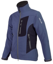 Kurtka softshellowa CHILL LADY Milo blue black Softshell 2