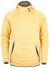 Bluza polarowa męska z kapturem Pattaya Milo yellow moss