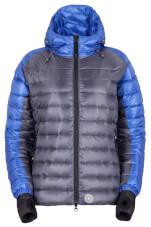 Puchowa kurtka zimowa damska MANALI LADY periscobe grey szaro niebieska