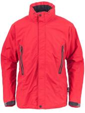 Turystyczna kurtka przeciwdeszczowa LOMI czerwona Milo