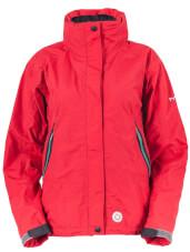Turystyczna kurtka przeciwdeszczowa LOMI LADY czerwona Milo