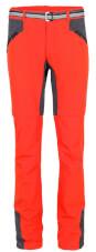 Spodnie trekkingowe z odpinanymi nogawkami Milo Marree czerwone