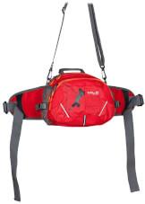 Turystyczna torba biodrowa Milo Ossom czerwona