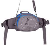 Turystyczna torba biodrowa Milo Ossom szara
