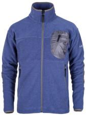 Męska bluza polarowa Milo Yrgyz amparo blue niebieska