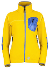 Damska bluza polarowa Milo Yrgyz Lady yellow apple amparo blue