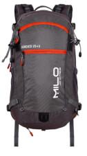 Wygodny plecak COROICO 25+3  grey burgundy Milo