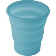 Składany kubek silikonowy Brunner Foldaway Glass 200 ml niebieski