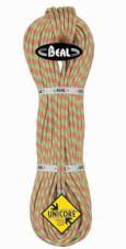 Lina dynamiczna podwójna Ice Line Unicore 8,1 mm 2 x 60 m Golden Dry Anis-Orange Beal