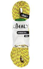 Lina dynamiczna Karma 9,8 mm x 60 m Yellow Beal