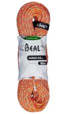 Lina dynamiczna Karma 9,8 mm x 80 m Orange Beal