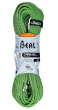 Lina dynamiczna pojedyncza, podwójna, bliźniacza Opera Unicore 8,5 mm x 50 m Dry Cover Green Beal