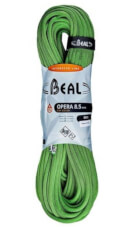 Lina dynamiczna pojedyncza, podwójna, bliźniacza Opera Unicore 8,5 mm x 60 m Dry Cover Green Beal