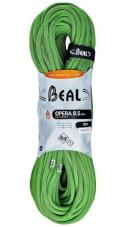 Lina dynamiczna pojedyncza, podwójna, bliźniacza Opera Unicore 8,5 mm x 70 m Dry Cover Green Beal