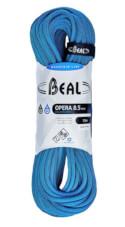 Lina dynamiczna pojedyncza, podwójna, bliźniacza Opera Unicore 8,5 mm x 70 m Golden Dry Blue Beal