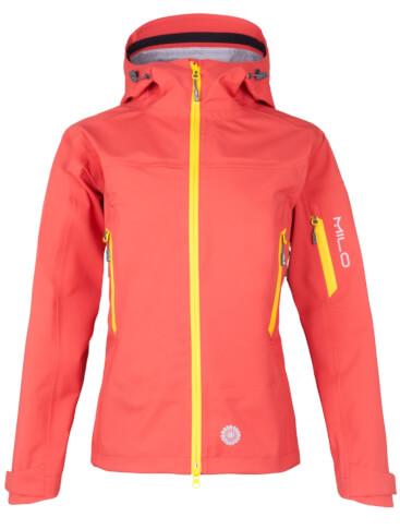 Alpinistyczna kurtka techniczna Gaja Lady tomato red Milo