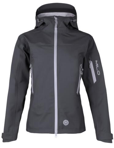Alpinistyczna kurtka techniczna Gaja Lady titanium grey Milo