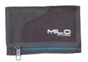 Turystyczny portfel Wally szaro niebieski Milo