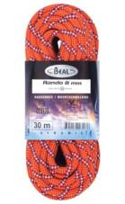 Lina turystyczna dynamiczna Rando 8 mm x 30 m Standard Orange Beal