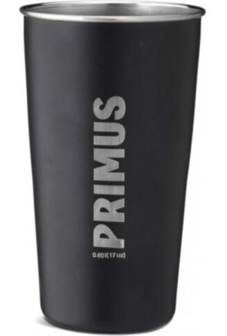 Stalowy kubek turystyczny CampFire Pint 0,6 l Black Primus