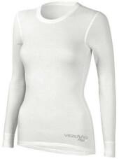Damska koszulka potówka z długim rękawem Meryl Skinlife biała