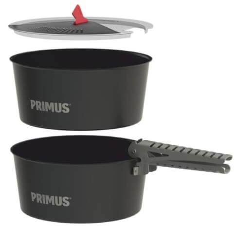 Wytrzymałe garnki turystyczne LiTech Pot Set 2,3 l Primus