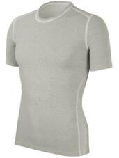 Koszulka męska z krótkim rękawem medium potówka biała