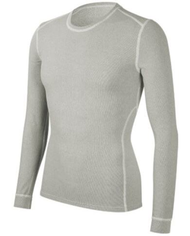 Koszulka rowerowa medium męska Q-Skin Vezuvio szara