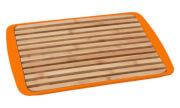 Deska z tacą do krojenia chleba Bread Board pomarańczowa Brunner