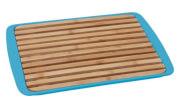 Deska z tacą do krojenia chleba Bread Board niebieska Brunner