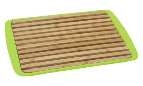 Deska z tacą do krojenia chleba Bread Board zielona Brunner