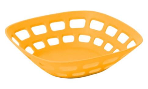 Turystyczny koszyk na pieczywo Bread Basket pomarańczowy Brunner