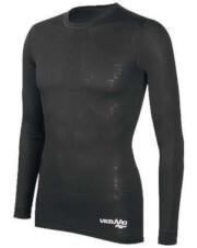 Koszulka dziecięca z długim rękawem potówka czarna BCM