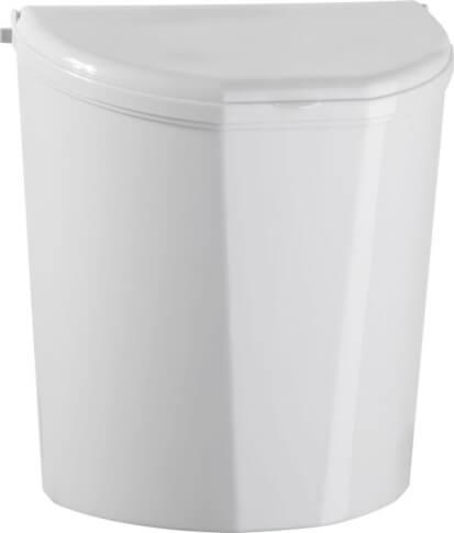 Kosz na śmieci Pillar XL biały Brunner