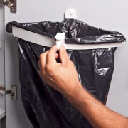 Uchwyt do mocowania worka na śmieci Snapster Brunner