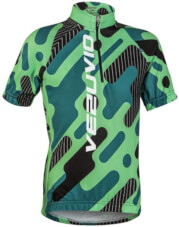 Koszulka rowerowa dziecięca Vezuvio Z1 BCM Nowatex