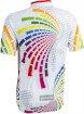 Koszulka rowerowa dziecięca Rainbow BCM Nowatex
