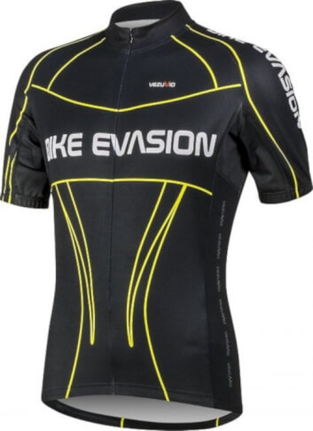 Koszulka męska rowerowa Evasion Black BCM Nowatex
