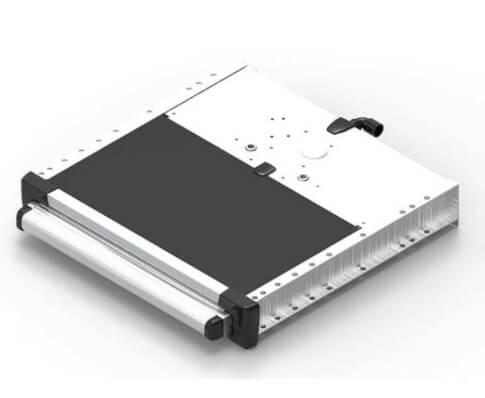 Stopień wejściowy elektryczny do przyczepy kempingowej Slide-Out Step 400 V18 12V Thule